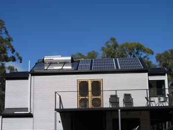 Photo showing Solar Panels on house
